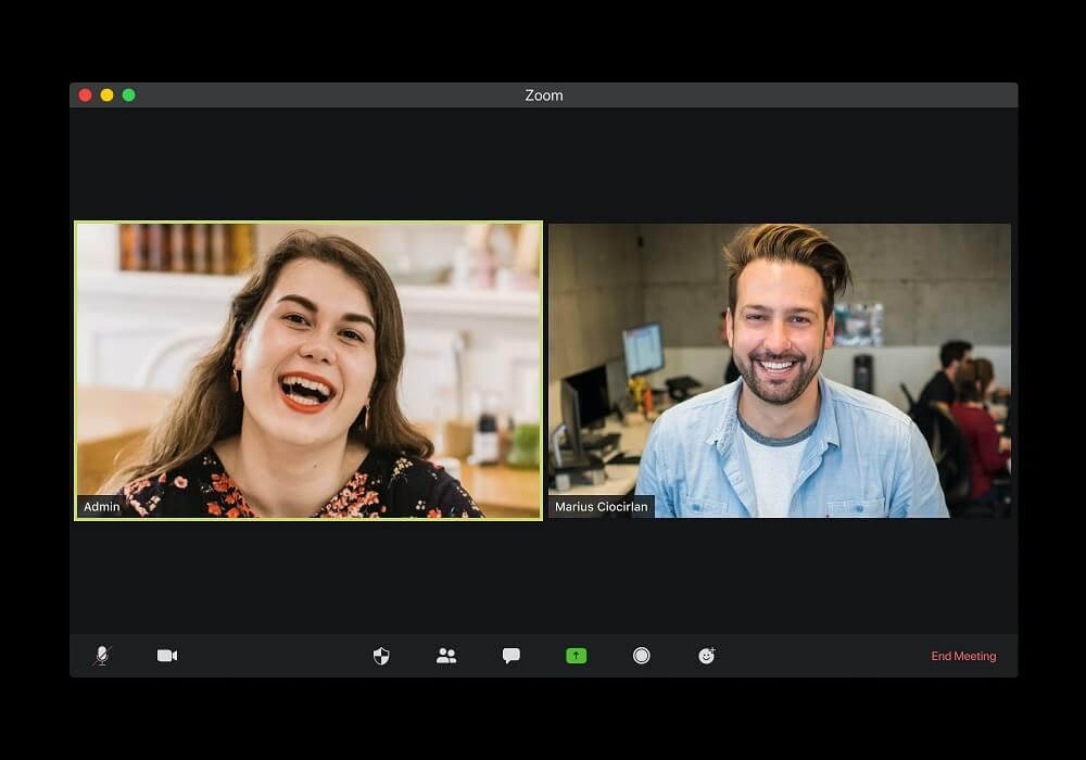 Bildschirm Videokonferenz
